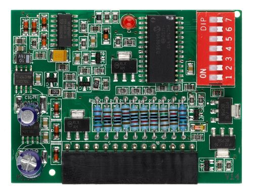 Carte fille pour AS210B options: palpeur opto ou 8k2, feu, tempo, mode auto