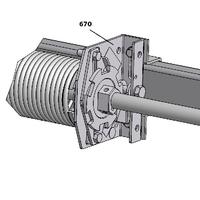 Parachutes pour portes sectionnelles composants pour toutes les fermetures du batiment - Porte sectionnelle crawford ...